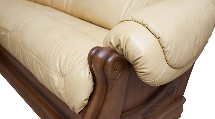 Кожаный угловой диван Барон - 5