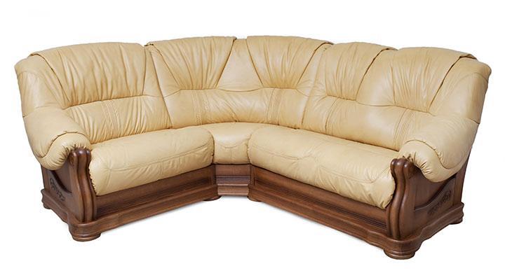 Кожаный угловой диван Барон - 2