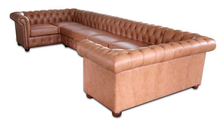 Кожаный угловой диван Сан-Ремо - 4