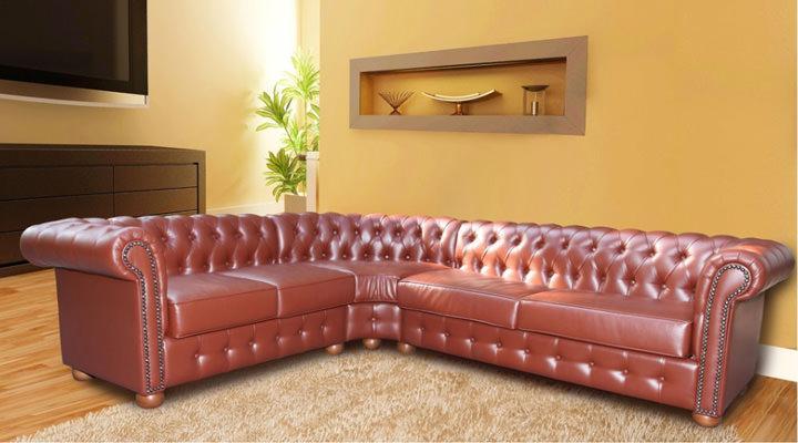 Кожаный угловой диван Сан-Ремо - 2
