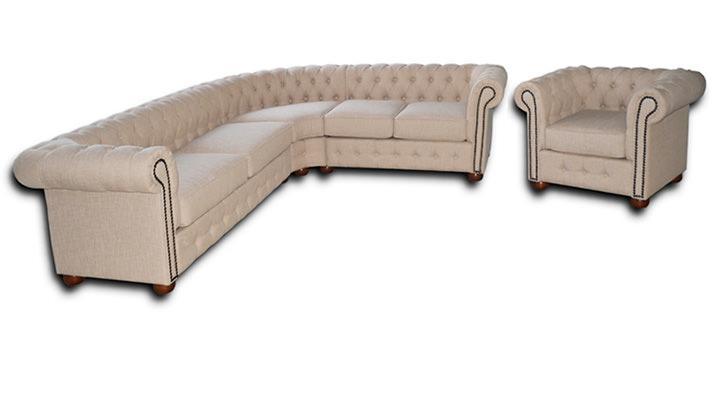Кожаный угловой диван Сан-Ремо - 3