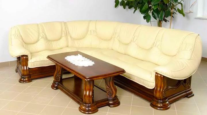 Кожаный угловой диван Гризли 298 - 2
