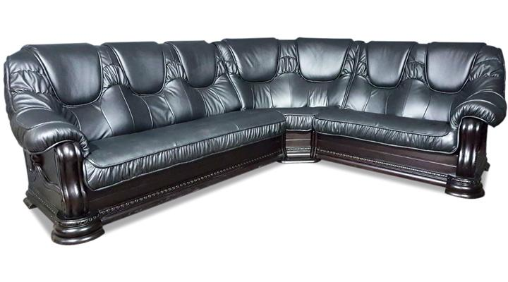 Кожаный угловой диван Гризли 298 - 8