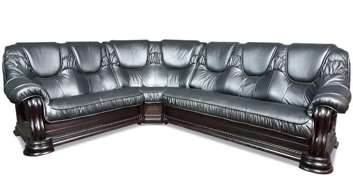 Кожаный угловой диван Гризли 298 - 9