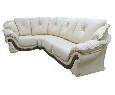 Кожаный угловой диван Лоретта