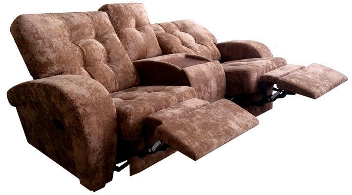 Двухместный диван реклайнер Винс - 5