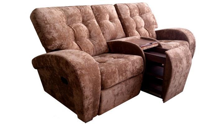 Двухместный диван реклайнер Винс - 6