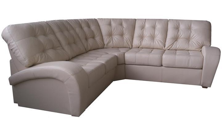 Угловой диван реклайнер Винс кожаный/экокожа - 6