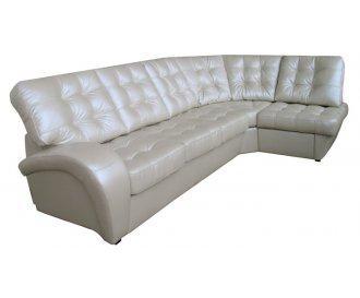 Кожаный угловой диван Винс