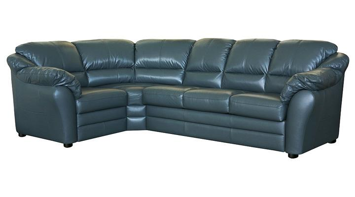 Кожаный угловой диван Атланта - 3