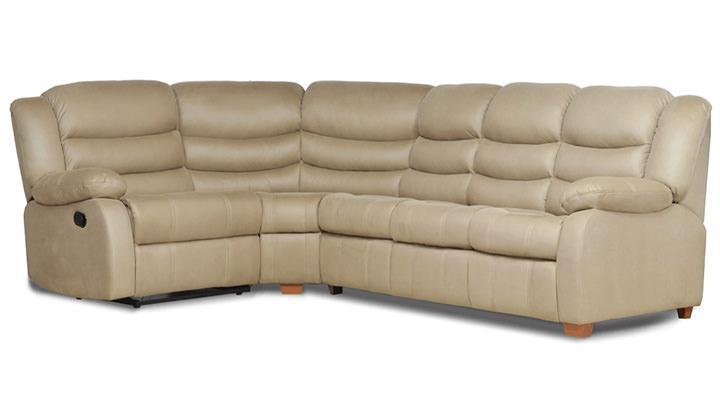Кожаный угловой диван Бостон  - 6