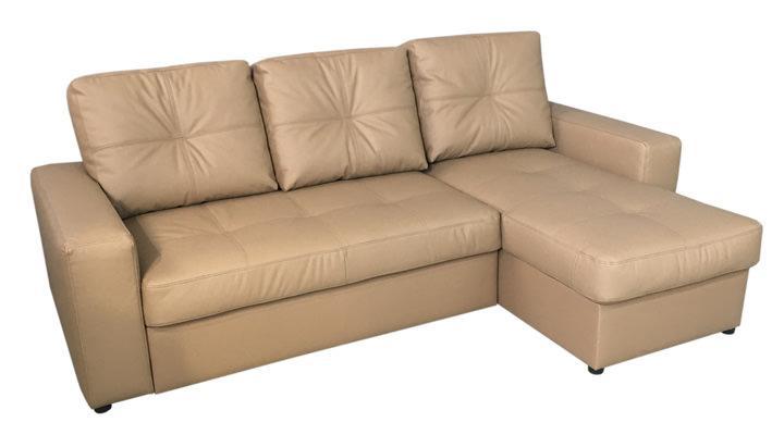 Кожаный угловой диван Калифорния мини В1-245 - 4
