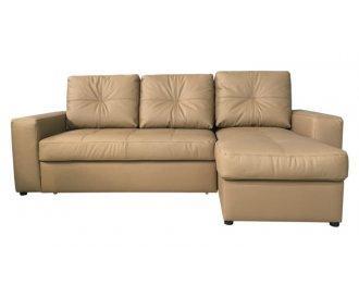Кожаный угловой диван Калифорния мини В1-245