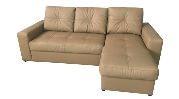 Кожаный угловой диван Калифорния мини В1-245 - 3