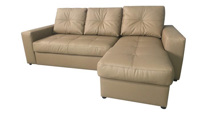 Кожаный угловой диван Калифорния мини В1-245 - 5