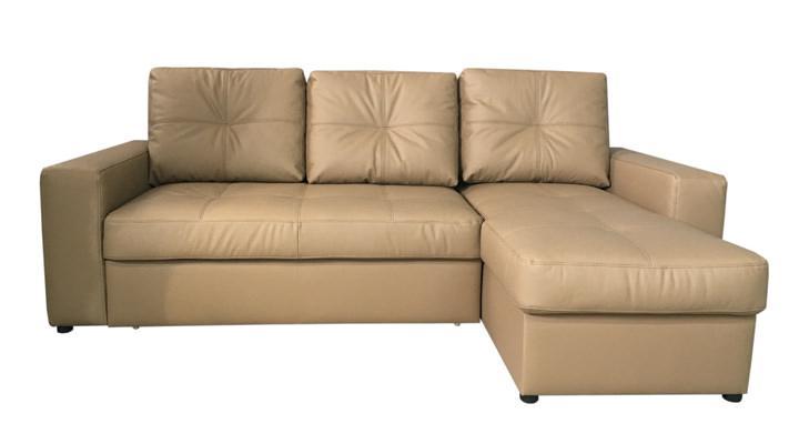 Кожаный угловой диван Калифорния мини В1-245 - 2