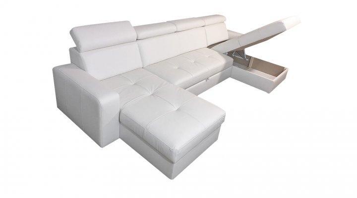 Кожаный модульный диван Кливленд B1-318 - 2