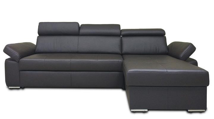 Кожаный угловой диван Кливленд В9-274