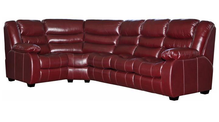 Кожаный угловой диван Манхэттен - 10