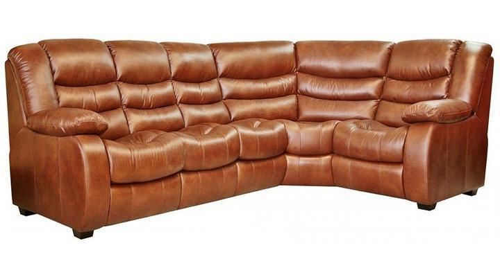 Кожаный угловой диван Манхэттен - 8