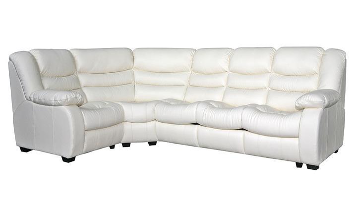 Кожаный угловой диван Манхэттен - 2