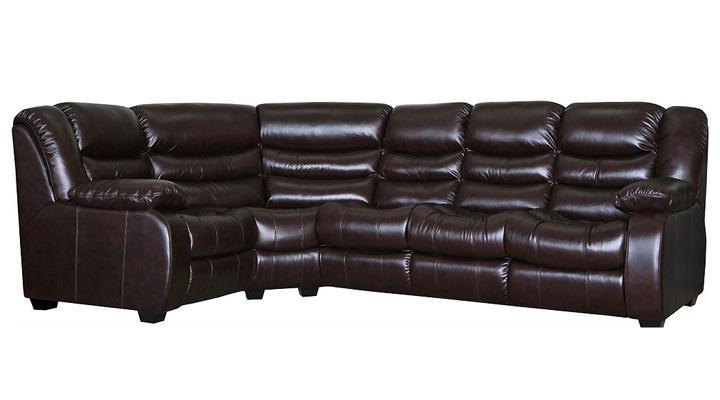 Кожаный угловой диван Манхэттен - 7