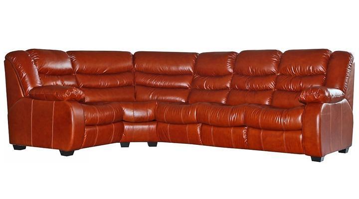 Кожаный угловой диван Манхэттен - 4