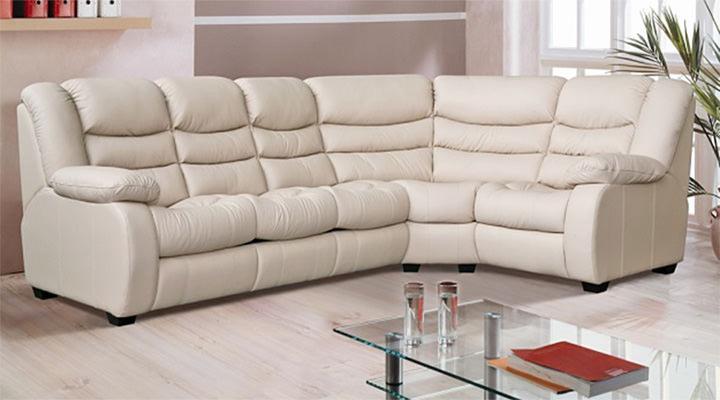 Кожаный угловой диван Манхэттен - 11