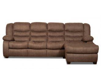 Угловой диван Манхэттен с оттоманкой