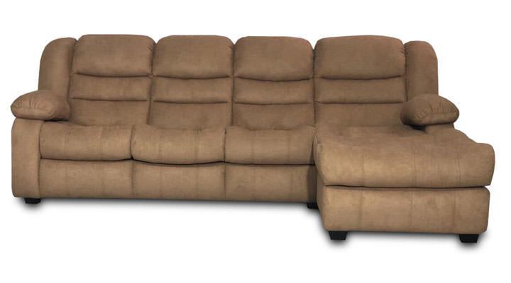 Угловой диван Манхэттен с отоманкой