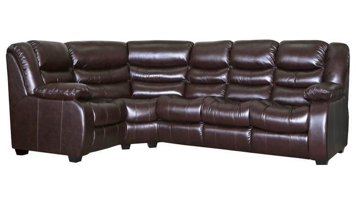 Кожаный угловой диван Манхэттен - 5