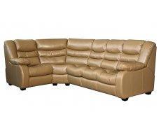 Кожаный угловой диван Манхэттен
