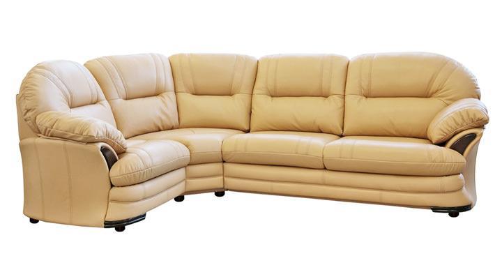 Кожаный угловой диван Нью-Йорк - 3
