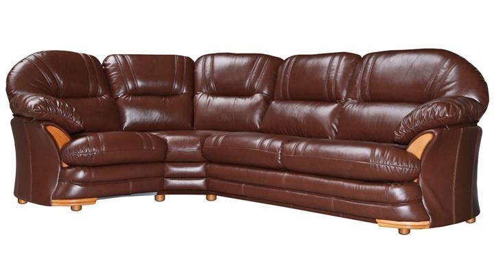 Кожаный угловой диван Нью-Йорк