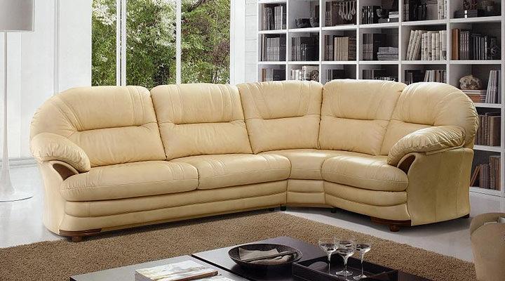 Кожаный угловой диван Нью-Йорк - 5