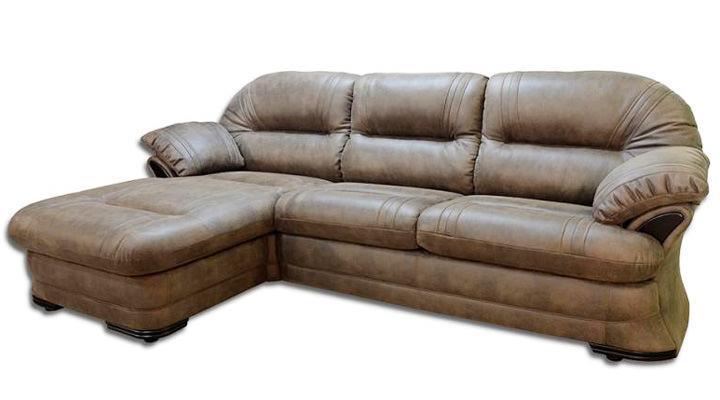 Кожаный угловой диван Нью-Йорк - 4