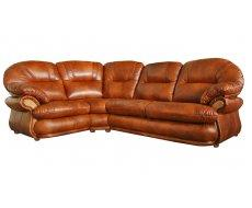 Кожаный угловой диван Орландо