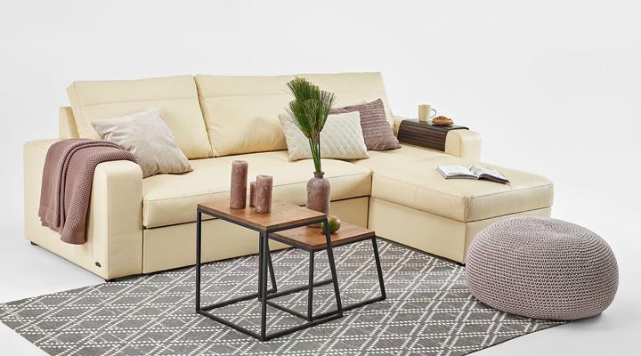 Кожаный угловой диван Филадельфия B1-254 - 4
