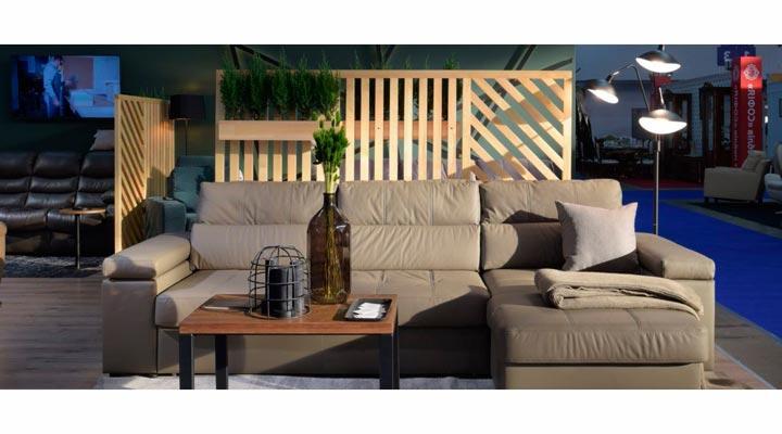 Кожаный угловой диван Флорида - 2