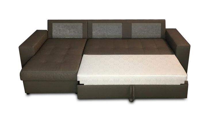 Кожаный угловой диван Флорида - 4