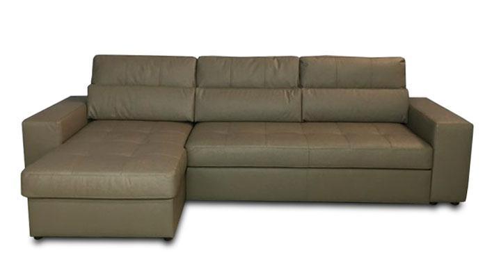 Кожаный угловой диван Флорида