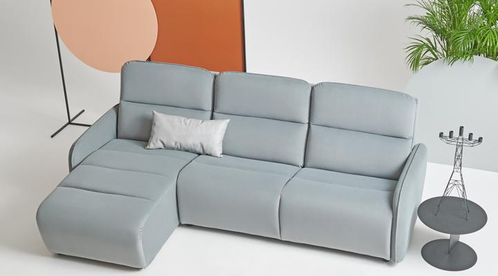 Угловой диван Лас-Вегас с оттоманкой - 2