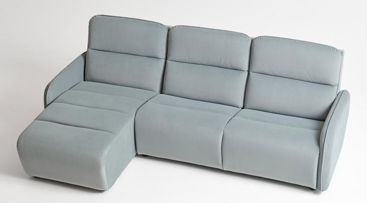 Угловой диван Лас-Вегас с оттоманкой - 3