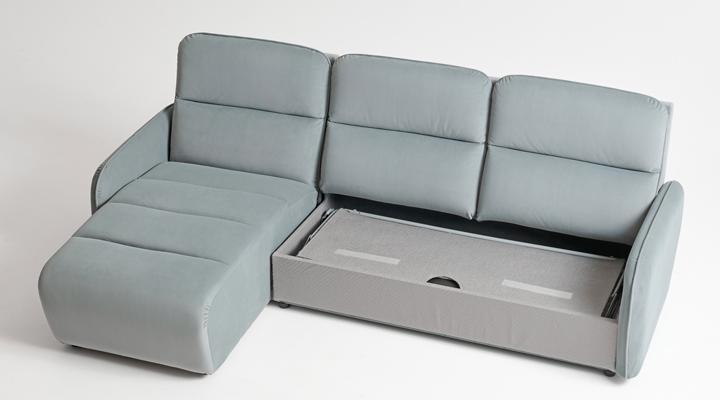 Угловой диван Лас-Вегас с оттоманкой - 4