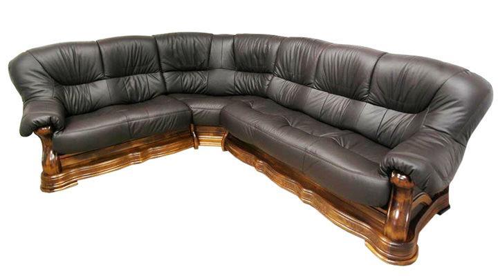 Кожаный угловой диван Senator (Сенатор)