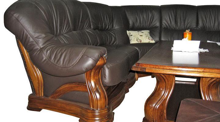Кожаный угловой диван Senator (Сенатор) - 4