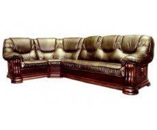 Кожаный угловой диван Grizli (Гризли)