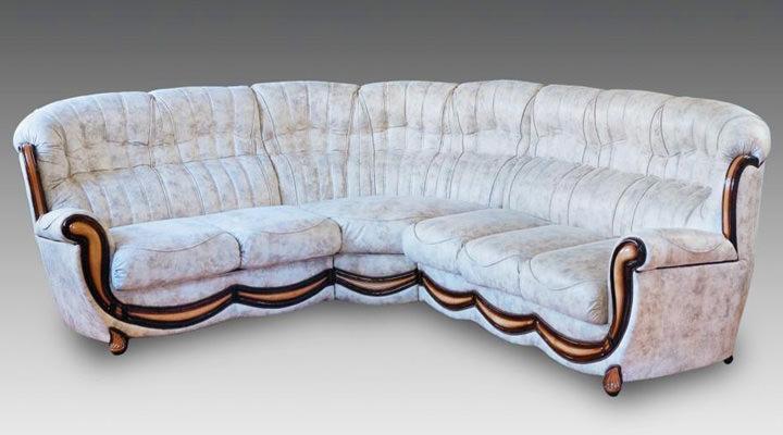 Кожаный угловой диван Джове - 6