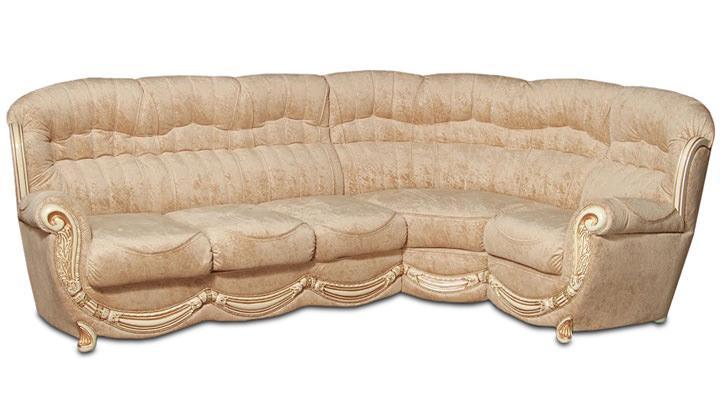 Кожаный угловой диван Джове - 3