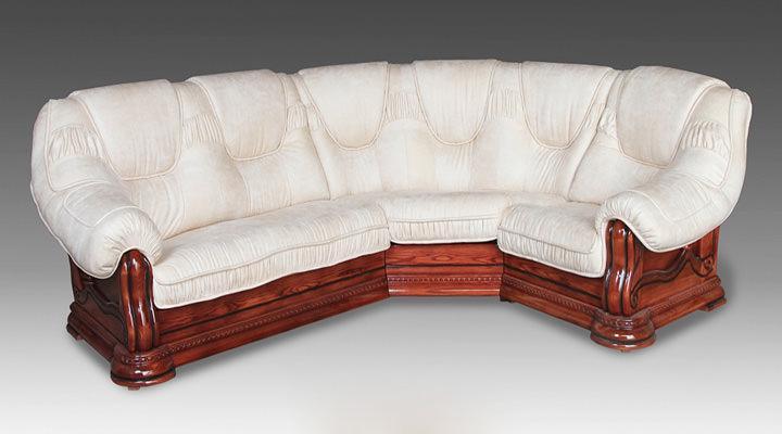 Кожаный угловой диван Гризли 340 - 5